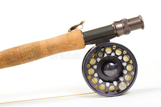 How to place a Fly-Fishing Rod and Reel Together