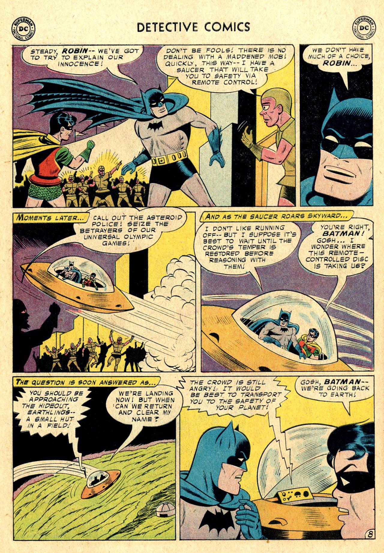Read online Detective Comics (1937) comic -  Issue #260 - 10