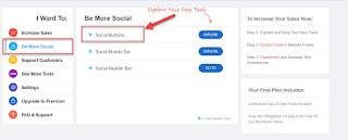 Tips Mudah Menambahkan Widget Social Media & Kontak Form Keren Di Blogger