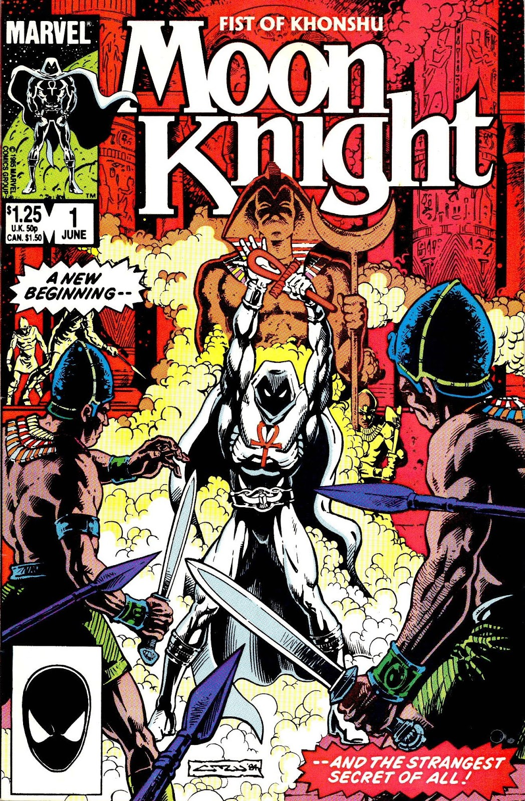 Marvel Comics of the 1980s: 1985 - Moon Knight - Fist of ...