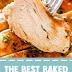 The Best Baked Honey Mustard Chicken #chickenrecipes #dinner