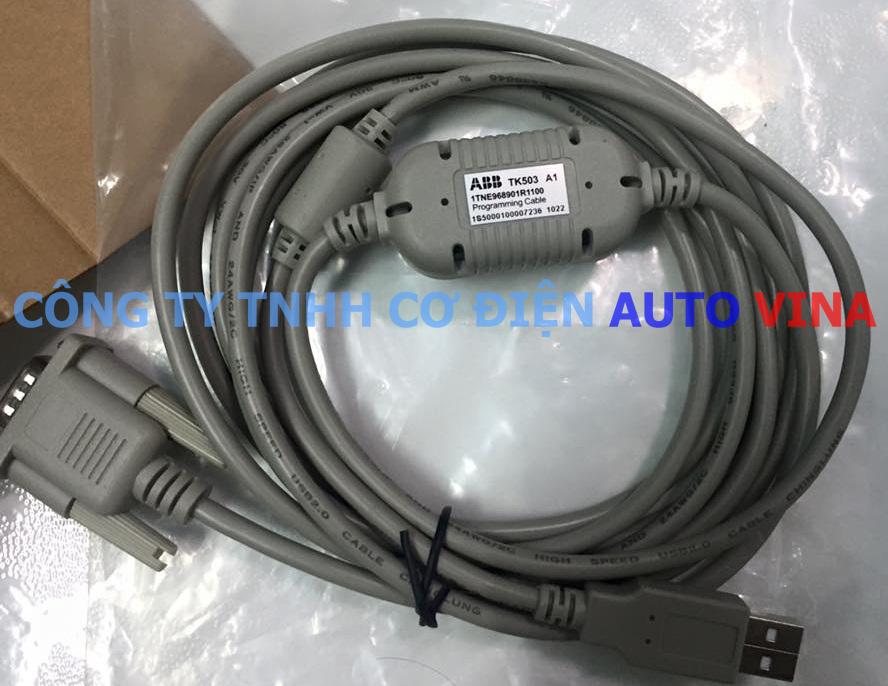 Programming Cable PLC ABB TK503 A1 1TNE968901R1100, cable lập trình PLC ABB