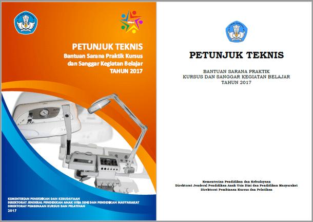 Juknis Bantuan Sarana Praktik Kursus dan Sanggar Kegiatan Belajar Tahun 2017
