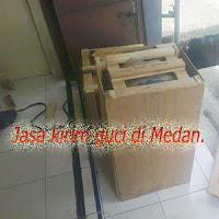 Jasa pengiriman gucii di Medan.