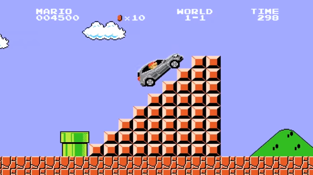 Japanese Mercedes Commercial Drives Through Super Mario Brothers (VIDEO)