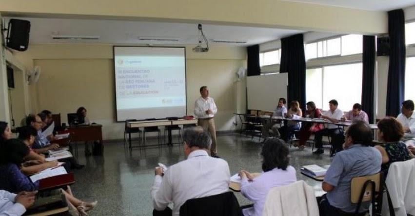 FONDEP participó en III Encuentro Nacional de Edugestores - www.fondep.gob.pe