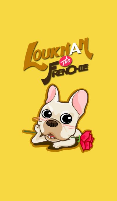 Louknann the frenchie