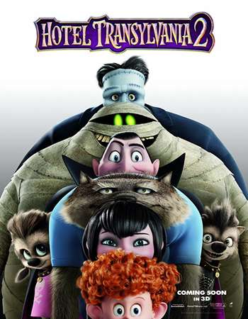 Hotel Transylvania 2 2015 Hindi Dual Audio BRRip Full Movie Download