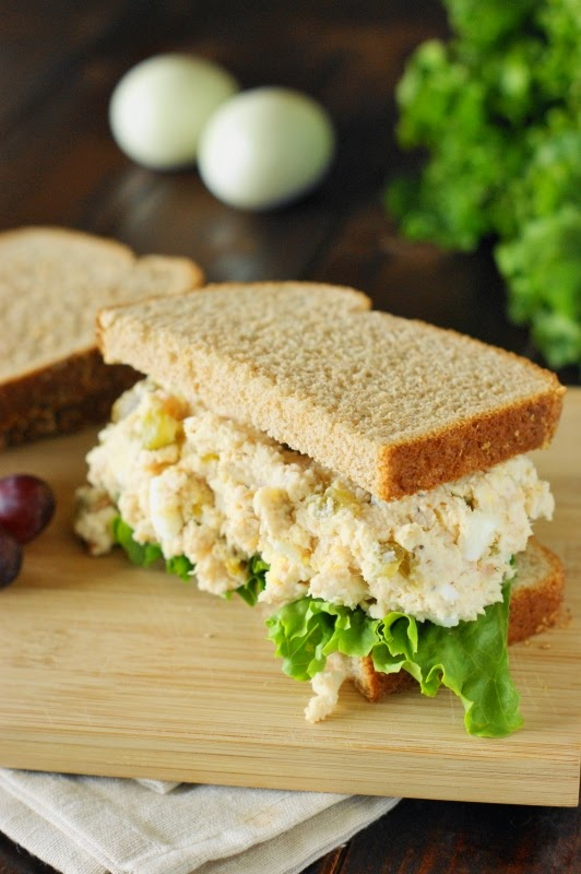 Southern Chicken Salad ~ creamy & comforting.
