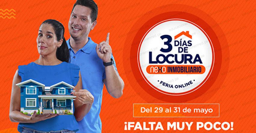 FERIA LOCURA INMOBILIARIA 2020: Accede a tasas de hasta 5% en créditos hipotecarios de 29 al 31 Mayo