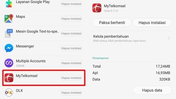 Ditolak emang selalu menyebalkan, termasuk oleh google play store. 6 Cara Mengatasi Aplikasi Mytelkomsel Error Tidak Bisa Dibuka Paket Internet