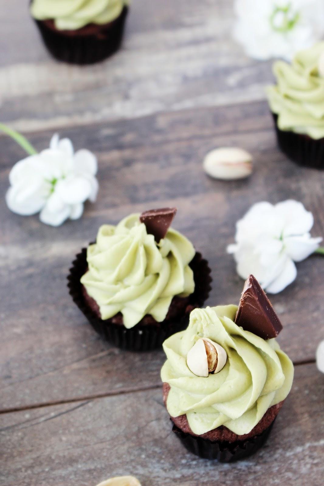 Schokoladen Pistazien Minicupcakes_3