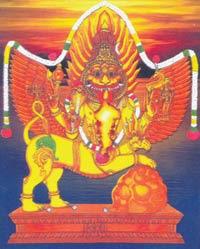 Sharabha Gayatri Mantra Lyrics   Hindu Devotional Blog