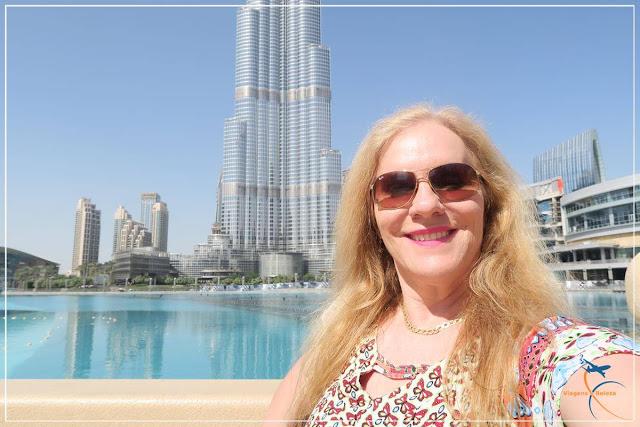Dubai Mall e o Burj Khalifa