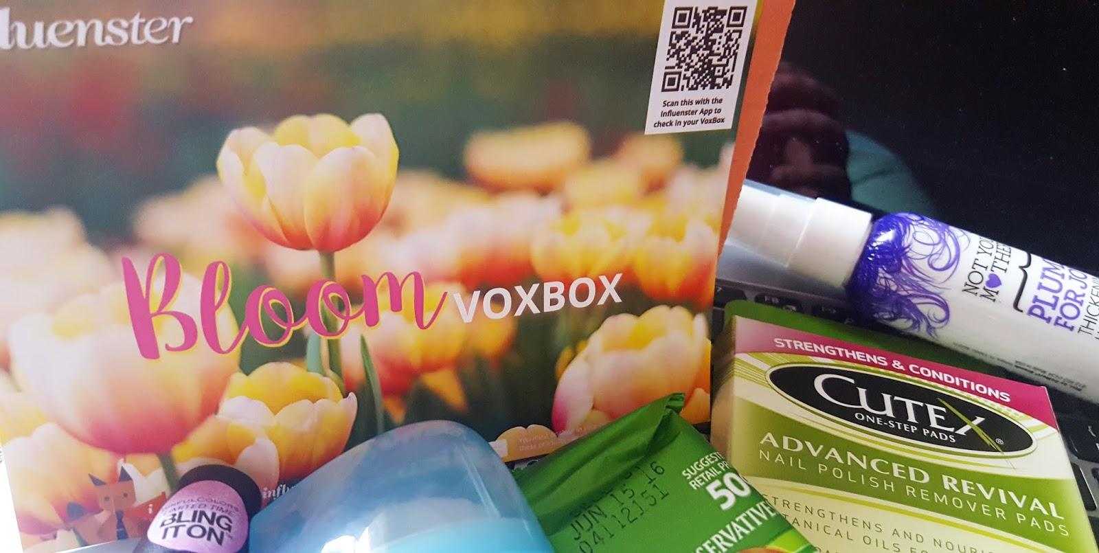 eba0a0fa0d8ab Influenster Bloom VoxBox Unboxing