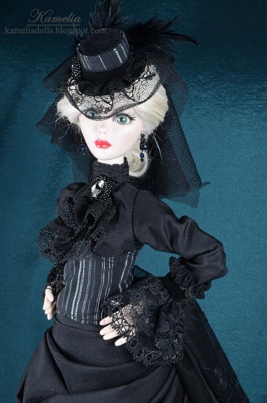Handmade jewellery for Evangeline Ghstly doll.