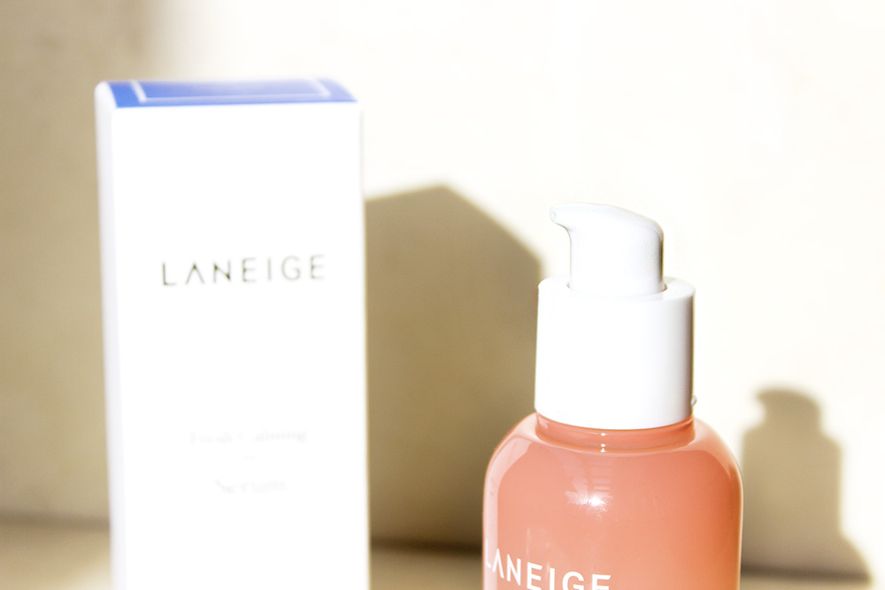 Laneige Fresh Calming Serum pump