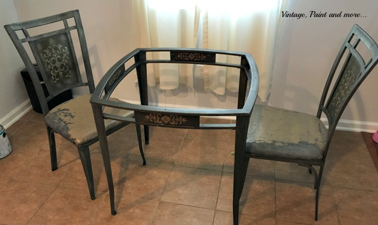 Vintage Paint And More... A Thrift Store Table And Chairs Find Made To