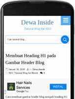 Cara Menampilkan Iklan Adsense di Mobile Blog