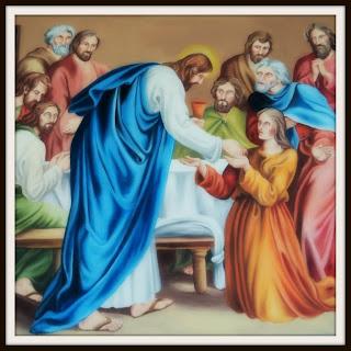 Pintura na Capela Senhor Bom Jesus, Rio Rufino