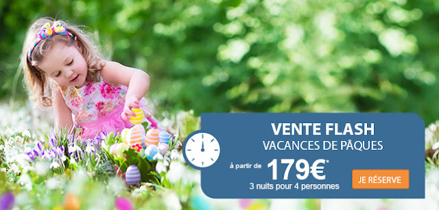 Vente Flash chez SunParks à partir de 219€ !