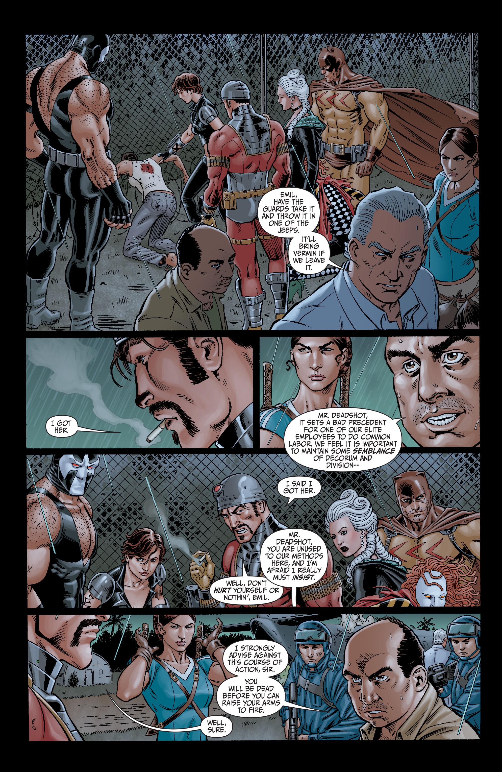 Read online Secret Six (2008) comic -  Issue #11 - 2