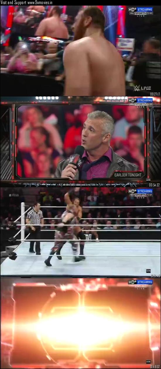 Download WWE Monday Night Raw 23 May 2016 HDTV 480p 500MB