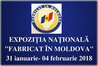 """Expoziția """"Fabricat în Moldova"""" 2018"""
