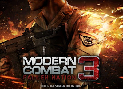 Modern Combat 3 fallen nation for android