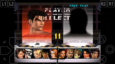 Tekken 3 MOD Full Characters Unlocked Apk v1.1 on Android New Update Terbaru