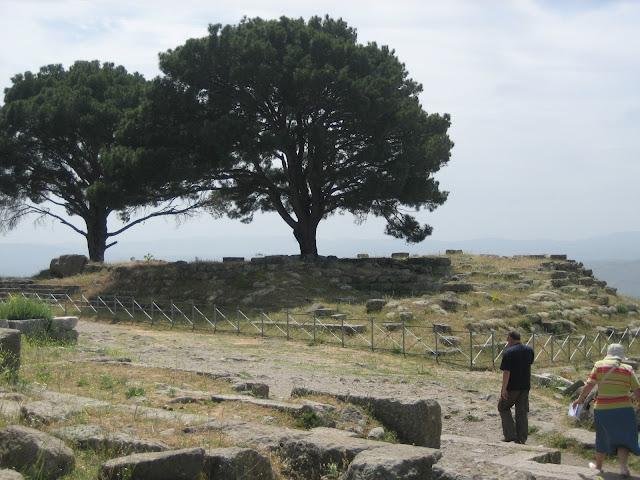 Emplazamiento original del altar en Pérgamo (Turquía)