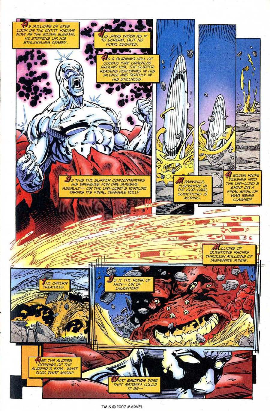 Read online Silver Surfer (1987) comic -  Issue #120 - 9