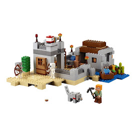 Minecraft The Desert Outpost Lego Set