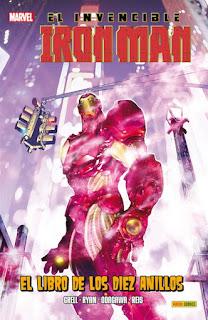 Iron Man Libro de los diez anillos