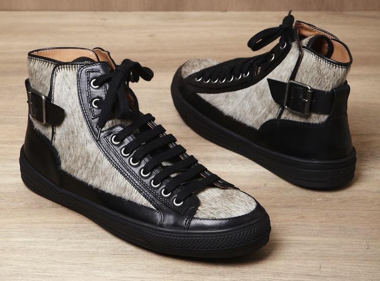 PoshTheSocialite: Dope Men's Sneakers: Dries Van Noten Fur ...