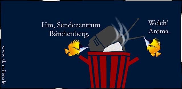 TV-Müll: Das große Fernseh-Sendezentrum Bärchenberg bekannt für Kriegspropaganda, für Mord & Totschlag in Serie. Bärchenberg bitte nicht mit dem ZDF Sendezentrum Lerchenberg verwechseln!