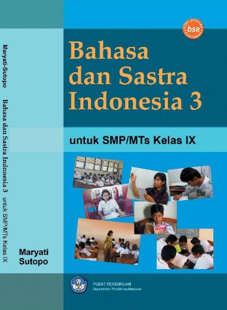Download Buku Siswa KTSP SMP dan MTs Kelas 9 Bahasa dan Sastra Indonesia 3