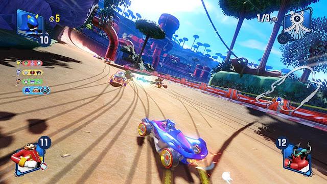 الكشف عن شخصيات Team Eggman لأول مرة داخل لعبة Team Sonic Racing و تفاصيل بالصور من هنا