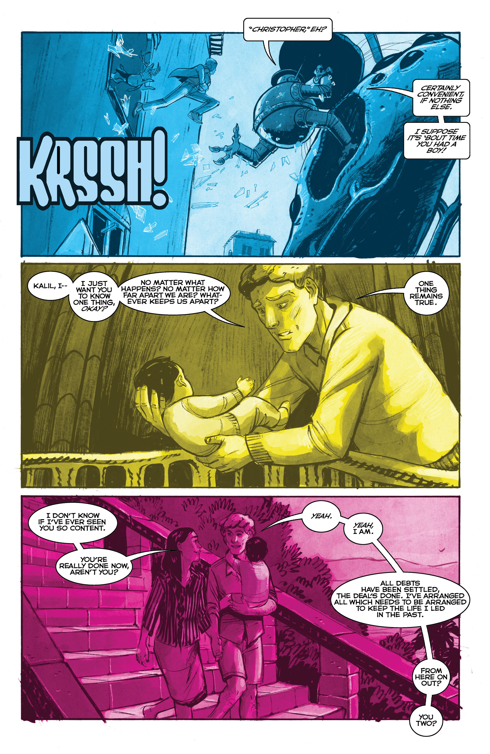 Read online Shutter comic -  Issue #19 - 9