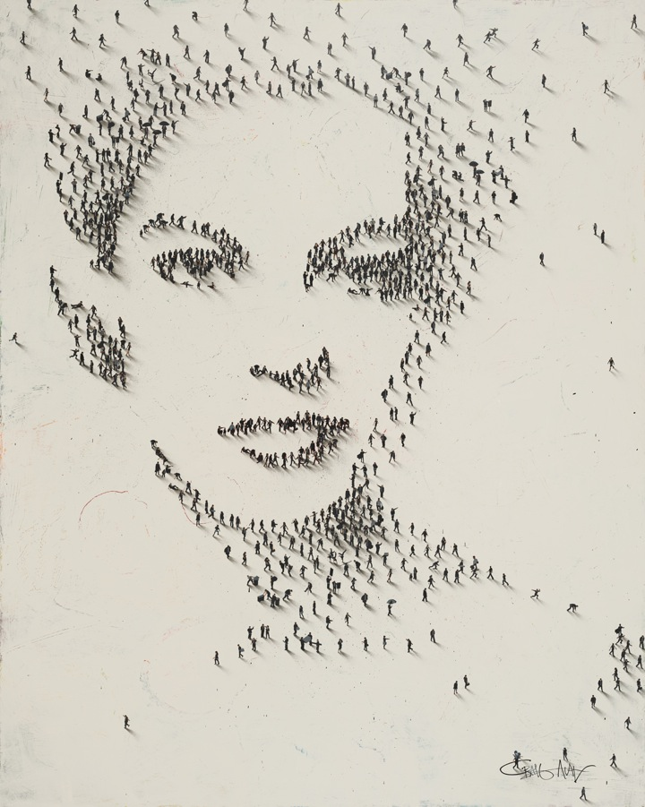 Alan Craig 1971 - Pixel people - Tutt'Art@