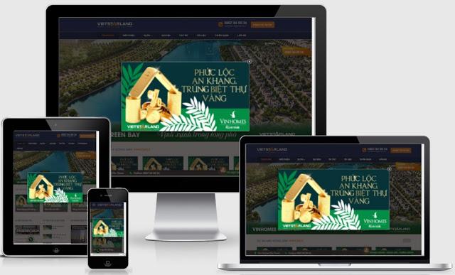 templates blogspot bất động sản