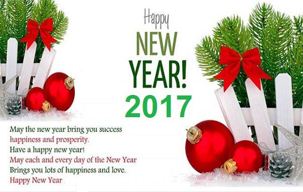 Happy New Year 2017 Wishes Greetings in German