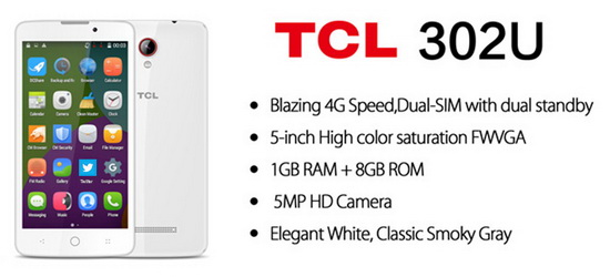 Download KitKat 4 4 stock firmware for TCL 302U smartphone