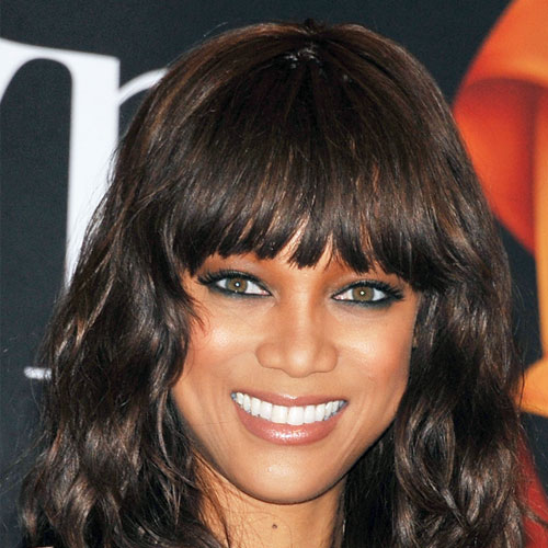 Tyra Banks Ponytail Hairstyles: Hollywood Trendy: Tyra Banks Hairstyles 2012