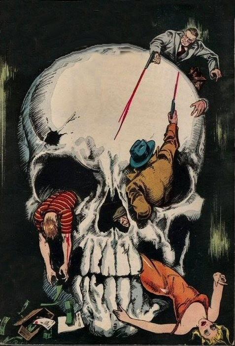 Vintage Skulls 9