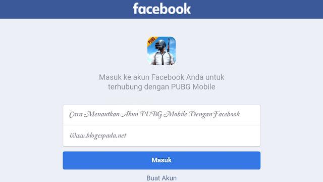 Cara Menautkan Akun PUBG Mobile Dengan Facebook