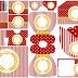 Corona Dorada en Rojo: Invitaciones para Bodas para Imprimir Gratis.