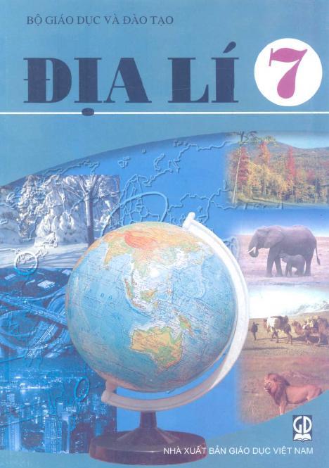 Sách Giáo Khoa Địa Lí 7