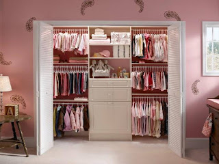 Small closet rooms for Girls, closet rooms, Small closet rooms, Closet Organizers, Nursery Closet, Brilliant Closet Organizers, Womens Closet, Girls