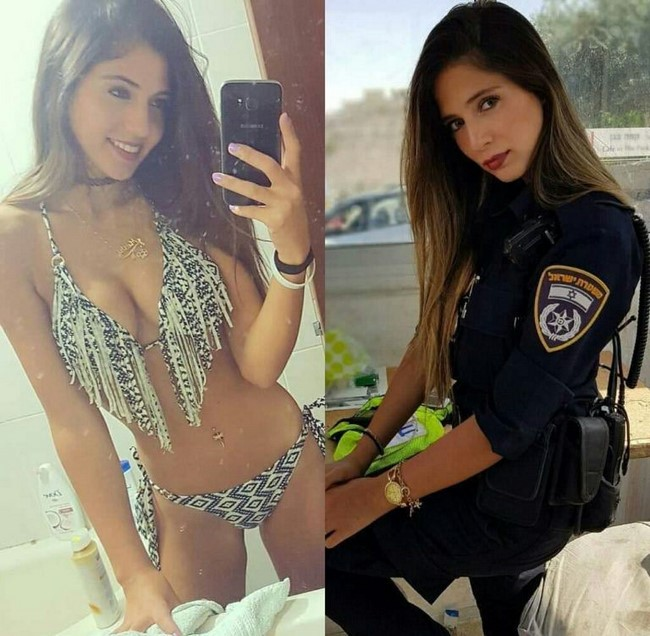As mulheres militares sedutoras mais bonitas e gostosas da Internet